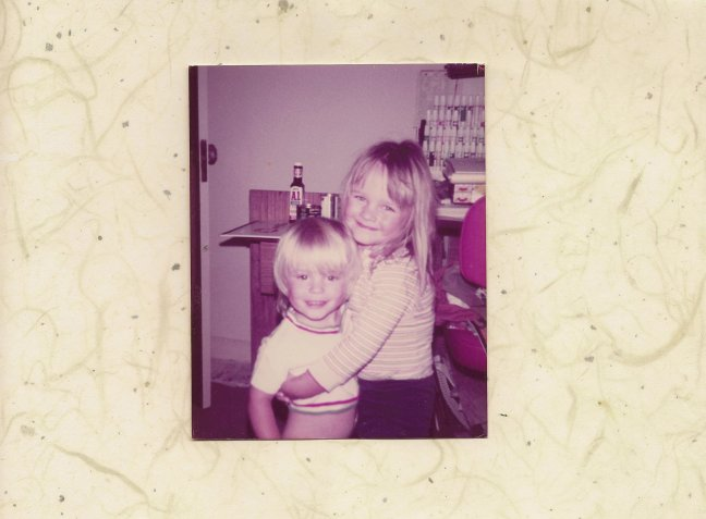 My sister, Catalina and I.