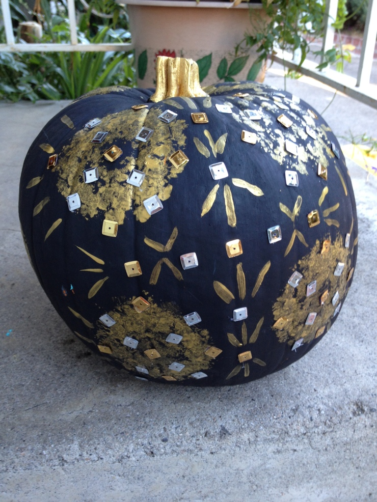 Indian Inspired Pumpkin