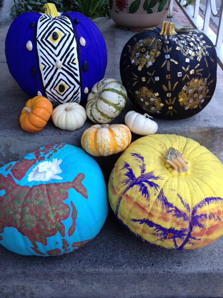 Global Inspired Pumpkins by IAMSHEGLOBAL