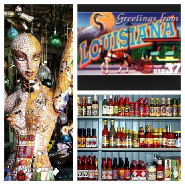 Hot sauce, postcards, mannequins?  Ok, the mannequin would require purchasing another plane ticket so that's out.