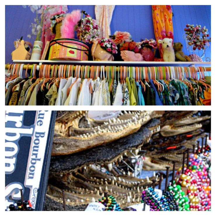 Vintage dresses, alligator heads and Mardi Gras beads, oh my!