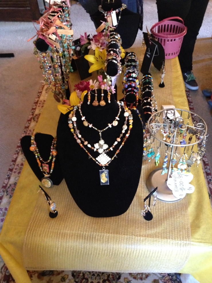 You can find our handmade jewelry at www.sistasjewelry.etsy.com