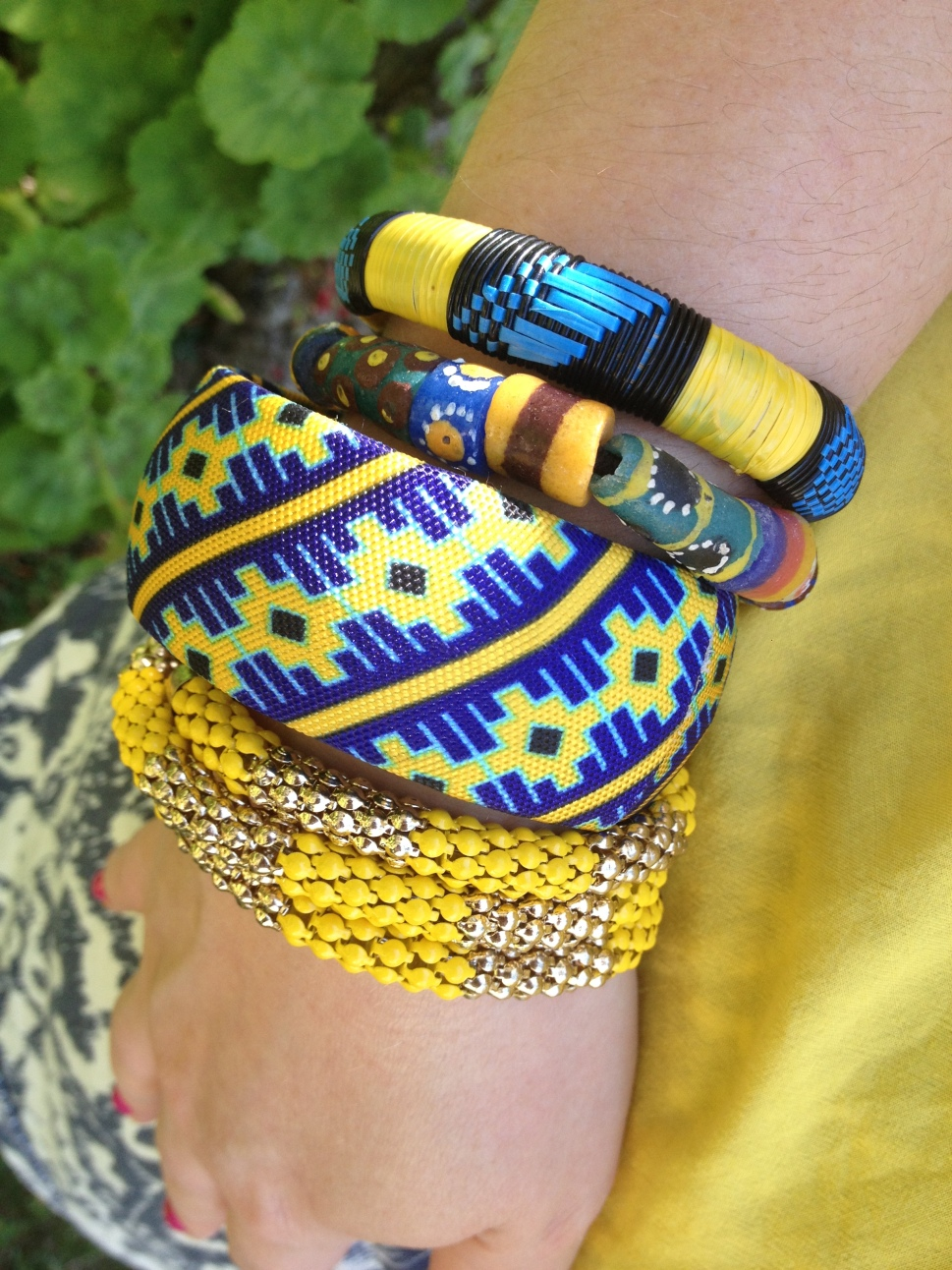 Keeping Cool in Ikat by IMSheGlobal Jewelry