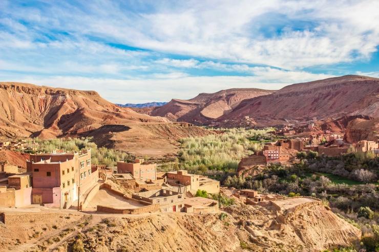 モロッコ オアシス
