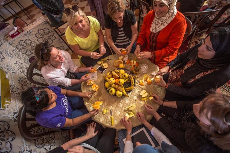 Morocco Meknes Women_s Lunch Overhead Oana Dragan 2014 - 0W3A9936 Lg RGB